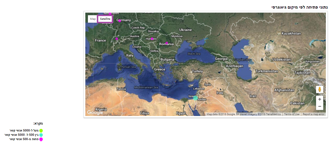 מפה לוויינית